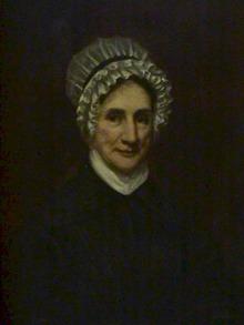 18th Century Woman Oil on Canvas