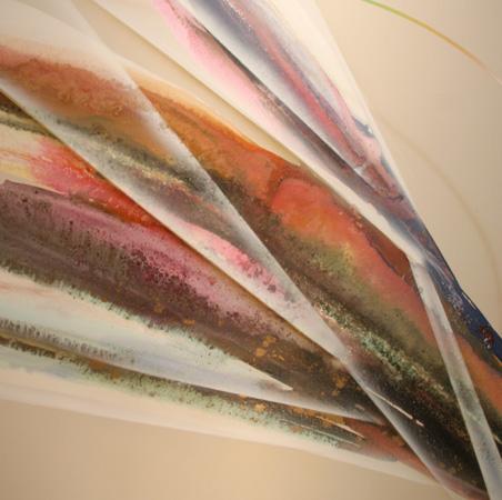 Elba Alvarez Large Oil Painting, Abstract