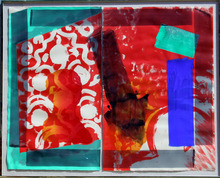 Howard Hodgkin S/N Lithograph w/ Hand Coloring,