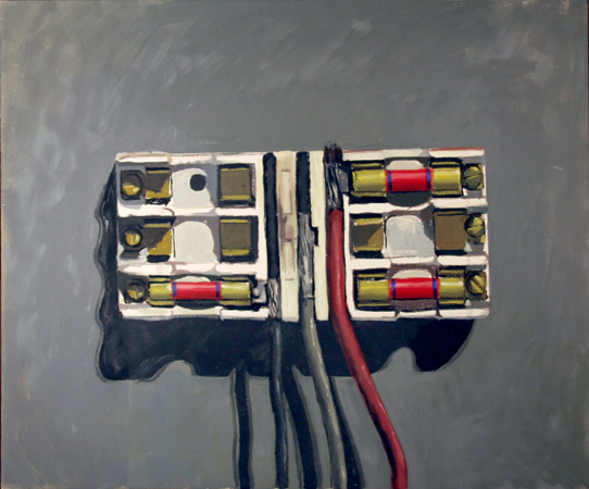 Bill Creston, Fuses, Oil Painting