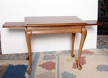 Pickled Wood Sofa Table
