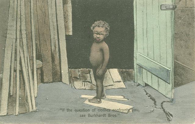 1909 Postcard, Burkhardt Bros.