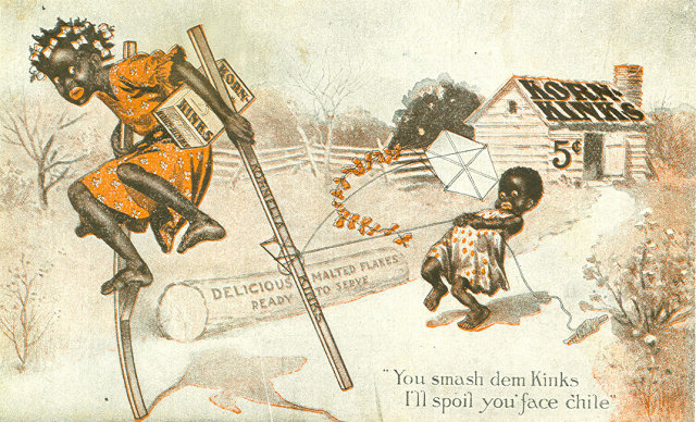 Early 1900's Postcard, Korn Kinks
