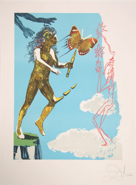 Salvador Dali, Release of the Psychic Spirit,