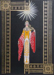 Erte, La Princesse Lointaine, Serigraph