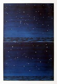 Richard Bosman, Night Sky, Aquatint Etching
