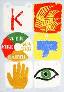 Joe Tilson, Fire Air Water Earth, Silkcreen