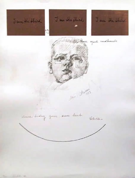 Michelangelo Pistoletto, Signed Silkscreen
