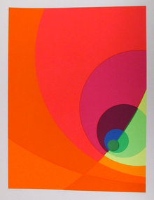 Herbert Aach, Split Infinity, Serigraph