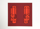 Josef Albers, Silkscreen 1972