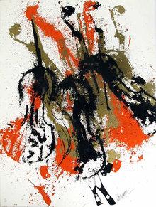 Arman, Homage to Vivaldi, Serigraph