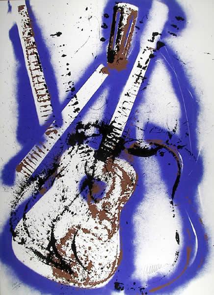 Arman, Flamenco Guitar, Serigraph