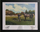 Cuneo, Royal Stallion, Horse Print Signed