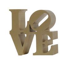 Robert Indiana, Love, Aluminum Sculpture