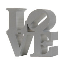 Robert Indiana, Love, Aluminum Sculpture