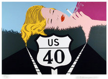 Allan D'arcangelo, Signed Serigraph