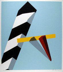 Allan D'arcangelo Proposition, Signed Serigraph