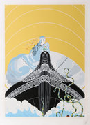 Erte, Surprises of the Sea, Serigraph