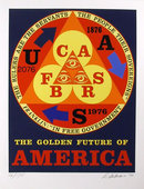 Robert Indiana, Golden Future of America, Silks