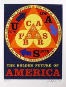 Robert Indiana, Golden Future of America, Silks