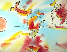 Peter Max, Boat Flyer, Lithograph