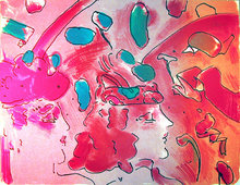 Peter Max, Reflections II, Lithograph