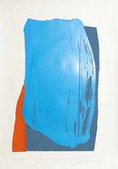 Larry Zox, Moro II, Abstract Silkscreen