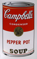 Andy Warhol, Campbell's Soup Can, Serigraph