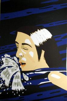 Alex Katz, Swimmer, Serigraph