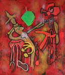 Roberto Matta, Eld of the World, Carborundum