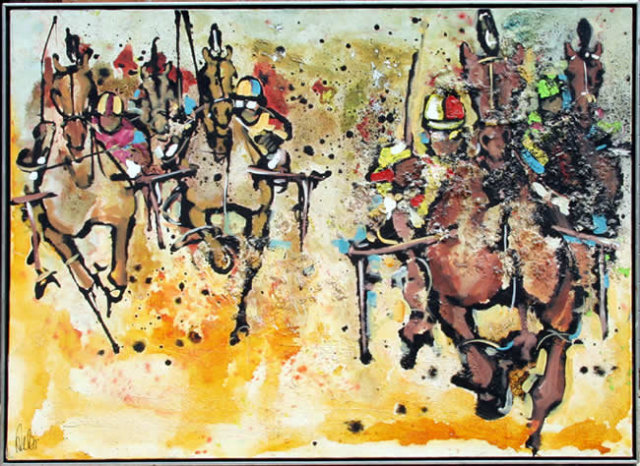 Ernest Aebi, Roosevelt Raceway, Painting