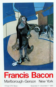 Francis Bacon, Marlborough Poster 1968