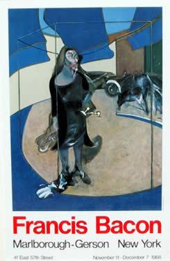 Francis Bacon, Marlborough Poster 1968