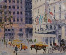 Bassari, Street Scene Spanish Painting