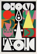 Auguste Herbin, Alphabet Plastique, Silkscreen c1950
