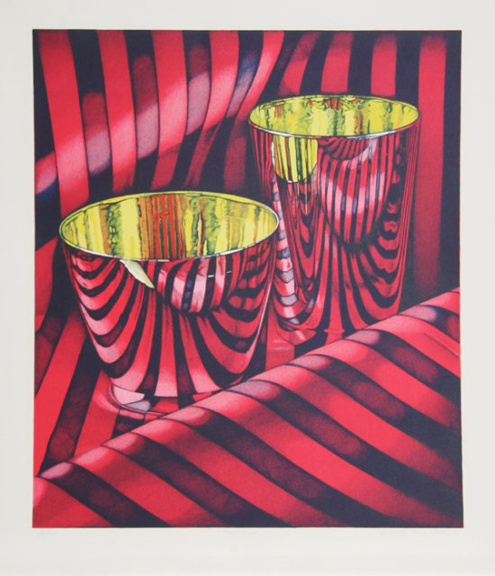 Jeanette Pasin Sloan, Red Shift, Lithograph