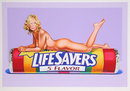 Mel Ramos, Five Flavor Funny, Lithograph