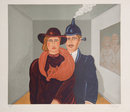 Benjamin Levy, Couple, Lithograph