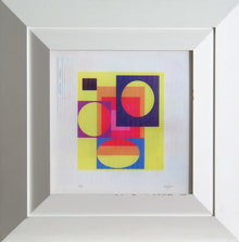 Yaacov Agam, Yellow Haze, Agamograph
