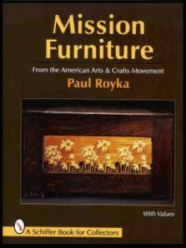 Mission Arts and Crafts furniture book w/prices