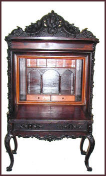 American Victorian  Rosewood Fall Front Desk