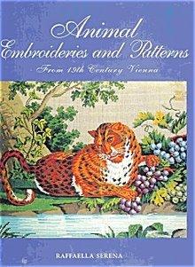 Animal Embroideries & Patterns by Raffaella Seran