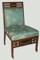 Aesthetic Movement Mahogany Side Chair
