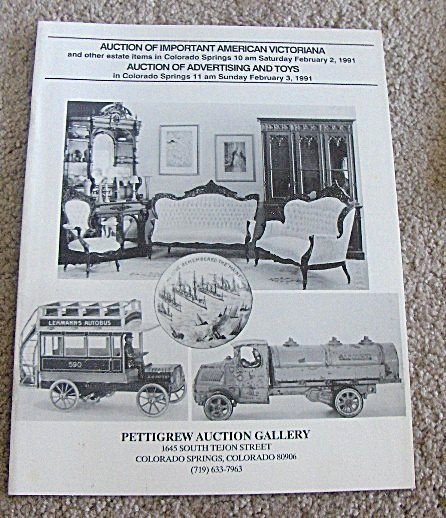 Auction Catalog - February 3, 1991, Pettigrew Auctions