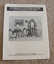 July 11, 1192 -  Pettigrew Auction Catalog