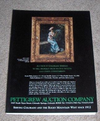January 14, 1996 - Pettigrew Auction Catalog