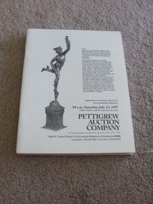 July 12, 1997  -  Pettigrew Auction Catalog,