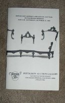October 21, 1989  -  Pettigrew Auction Catalog,