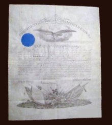 ANDREW JOHNSON AND EDWARD STANTON ARMY APPOINTMENT