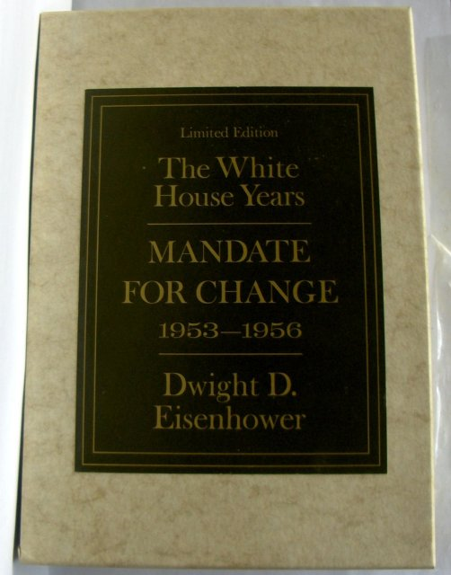 Mandate for a Change